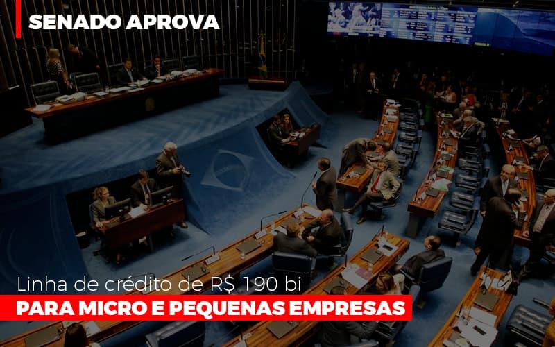 Senado Aprova Linha De Crédito De R$190 Bi Para Micro E Pequenas Empresas - Contabilidade em Presidente Epitácio - SP | ERS Contabilidade
