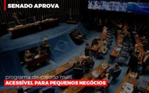 Senado Aprova Programa De Credito Mais Acessivel Para Pequenos Negocios Contabilidade - Contabilidade em Presidente Epitácio - SP | ERS Contabilidade
