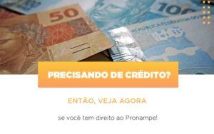 Precisando De Credito Entao Veja Se Voce Tem Direito Ao Pronampe - Contabilidade em Presidente Epitácio - SP | ERS Contabilidade