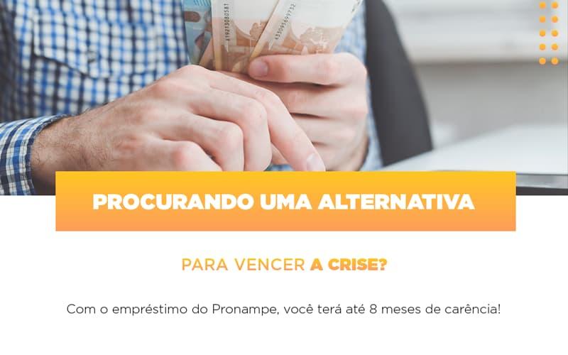 Pronampe Conte Com Ate Oito Meses De Carencia - Contabilidade em Presidente Epitácio - SP | ERS Contabilidade