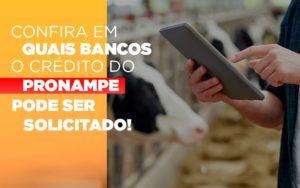 Confira Em Quais Bancos O Credito Pronampe Ja Pode Ser Solicitado - Contabilidade em Presidente Epitácio - SP | ERS Contabilidade