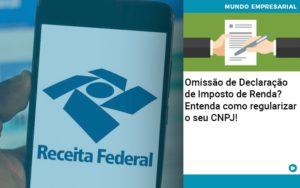 Omissao De Declaracao De Imposto De Renda Entenda Como Regularizar O Seu Cnpj - Contabilidade em Presidente Epitácio - SP | ERS Contabilidade